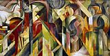 Franz Marc Stalle painting