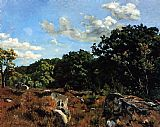 Frederic Bazille - Landscape at Chailly