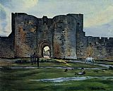 Frederic Bazille - Queens Gate at Aigues-Mortes