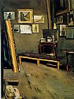Frederic Bazille Studio of the Rue Visconti painting