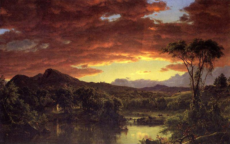 Frederic Edwin Church A Country Home