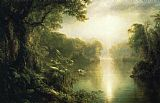 Frederic Edwin Church The River of Light painting