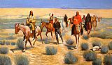 Frederic Remington The Missing painting