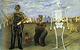 Frida Kahlo Canvas Paintings - Four Inhabitants of Mexico