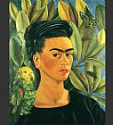 FridaKahlo-Self-Portrait-with-Bonito-1941