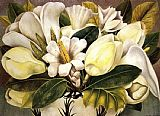 Frida Kahlo Famous Paintings - Magnolias