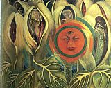 Famous Sun Paintings - Sun and Life