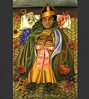 Frida Kahlo The Deceased Dimas painting