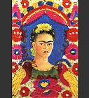 Frida Kahlo The Frame painting