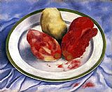 Frida Kahlo Wall Art - Tunas Still Life with Prickly Pear Fruit