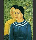 Frida Kahlo Wall Art - Two Women