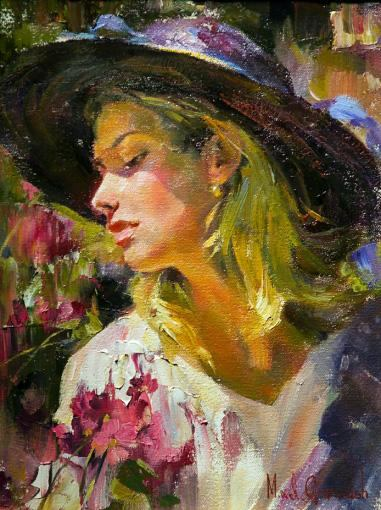 Ic Free Shipping >> Garmash ANASTASIA painting | framed paintings for sale