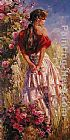Garmash Cherished Roses painting