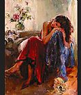 Garmash Canvas Paintings - Dreaming of Love