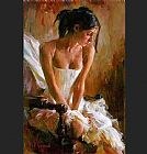 Garmash Canvas Paintings - Giselle