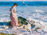 Garmash Moments in the Sun painting
