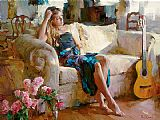 Famous Music Paintings - Music in the Afternoon