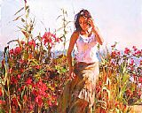 Garmash Famous Paintings - SIMPLE PLEASURES