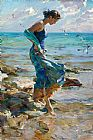 Garmash Famous Paintings - The Allure