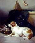 George Armfield - Spaniels with the Day's Bag