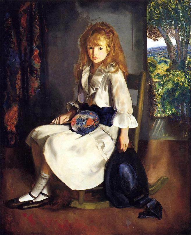 George Bellows Anne in White