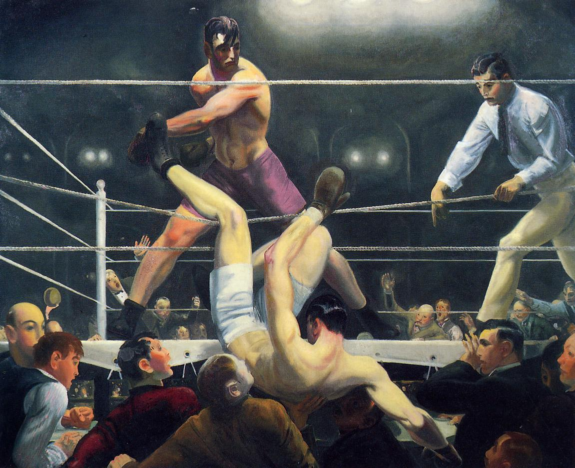 George Bellows Dempsey and Firpo