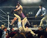 George Bellows Dempsey and Firpo painting