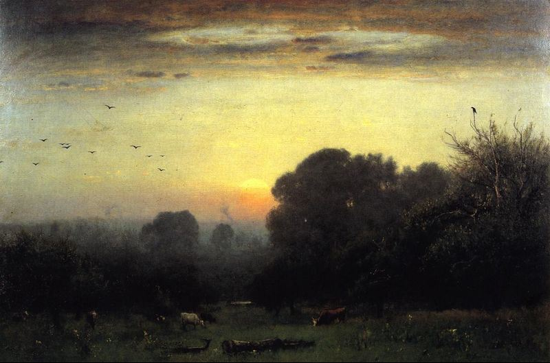 George Inness Morning