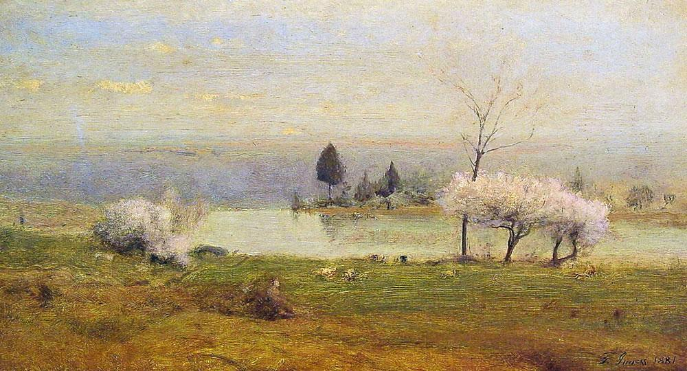 George Inness Pond at Milton on the Hudson