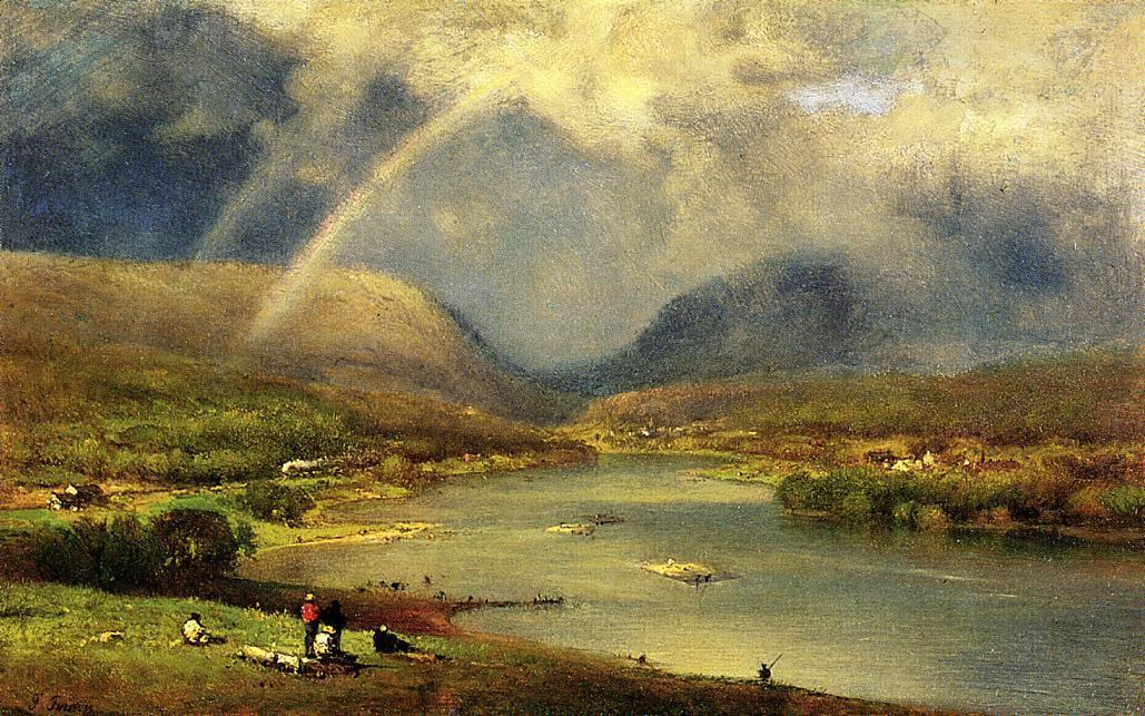 George Inness The Delaware Water Gap