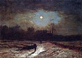 George Inness Christmas Eve painting