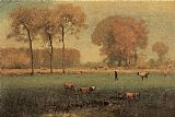 George Inness Summer Landscape painting