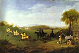 George Stubbs - Racehorses Belonging to the Duke of Richmond Exercising at Goodwood