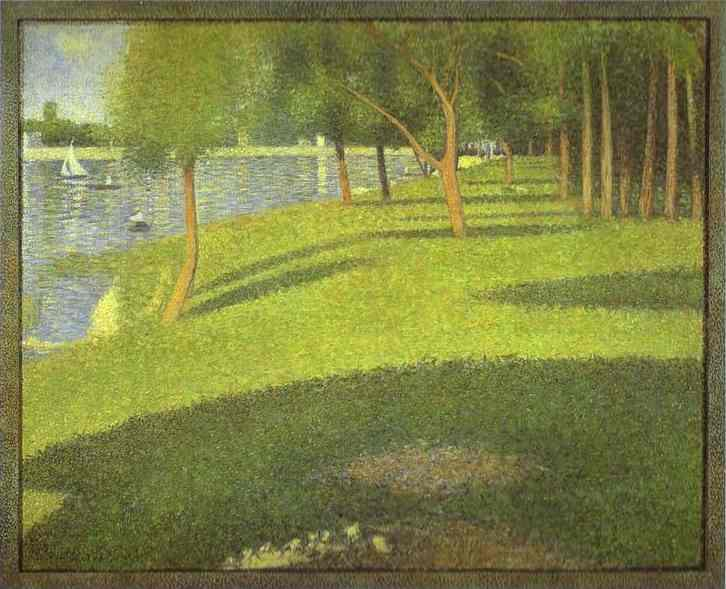 Georges Seurat The Island of La Grande Jatte