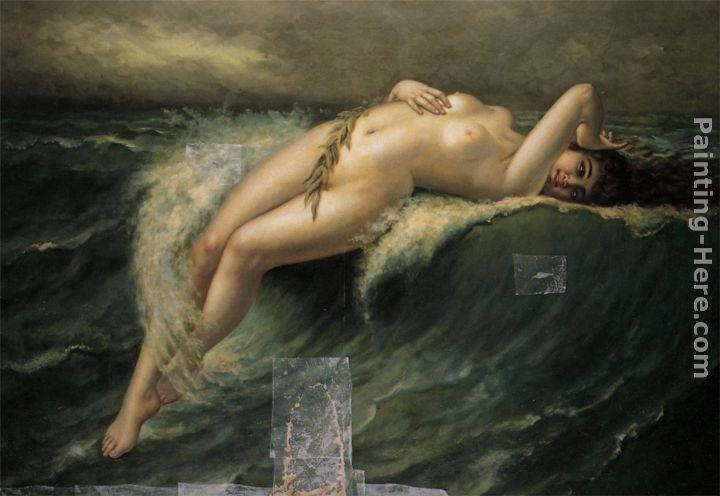 Guillaume Seignac Riding the Crest of a Wave