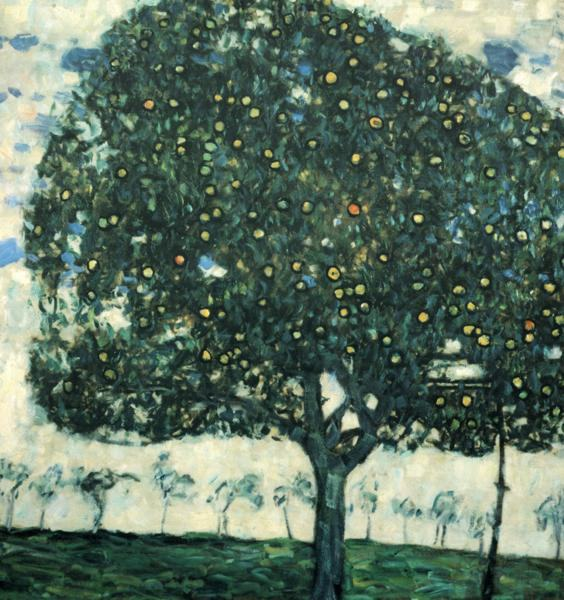 Gustav Klimt Apple Tree II
