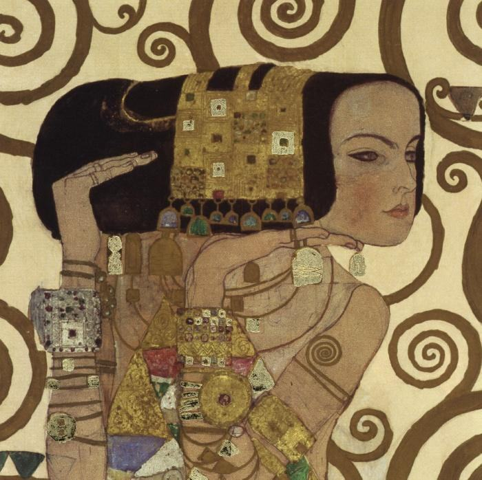 Gustav Klimt Expectation (detail)
