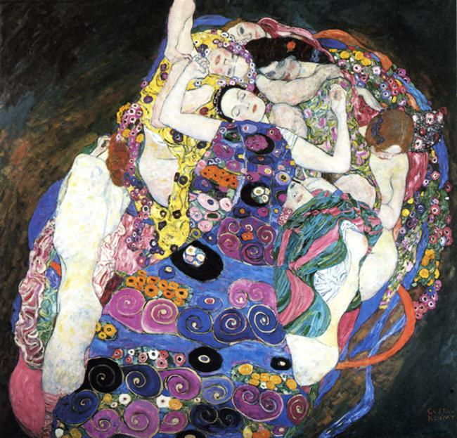 Gustav Klimt The Virgin