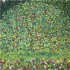 Gustav Klimt Apple Tree I painting