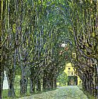 Famous Park Paintings - Avenue of Schloss Kammer Park