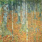 Famous Forest Paintings - Birch Forest