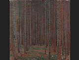 Famous Forest Paintings - Fir Forest