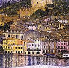 Gustav Klimt Malcesine on Lake Garda painting