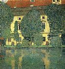 Gustav Klimt Schloss Kammer on the Attersee painting