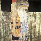 Gustav Klimt Famous Paintings - The Three Ages of Woman