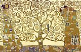 Gustav Klimt Famous Paintings - The Tree of Life