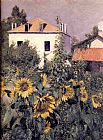 Sunflowers, Garden at Petit Gennevilliers