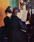 Gustave Caillebotte Wall Art - The Piano Lesson