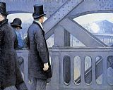 Gustave Caillebotte Wall Art - The Pont de Europe