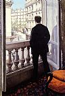 Gustave Caillebotte Wall Art - Young Man At His Window